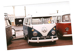 brighton breeze 2010 (emilyrachelmartin) Tags: uk england cars film rain vw 35mm brighton south east vans beetles breeze camper