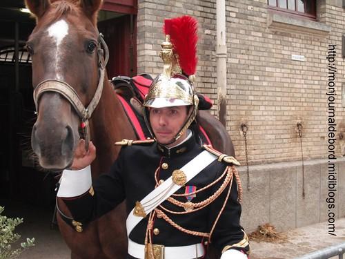 Cavalier Garde Républicaine