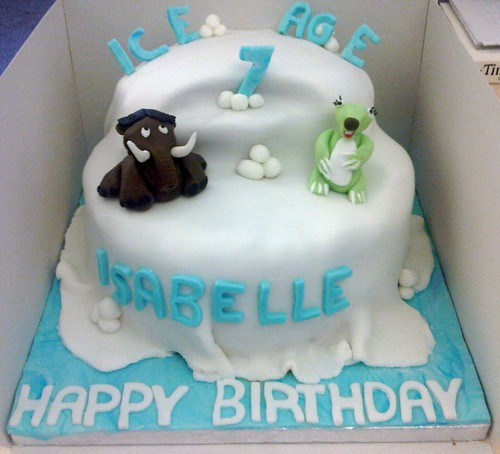 Novelty Cake - Ice Age Cake
