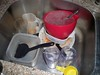 unwashed dishes (dm01514) Tags: sink dirtydishes rottenfood fdsafe biol1110fa10ag