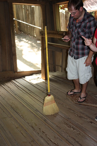 Seriously, a broom can accomplish what several drunks I know cannot.