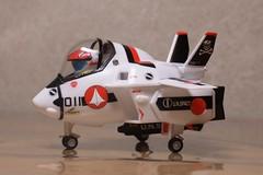 たまごひこーき VF-1A よこ