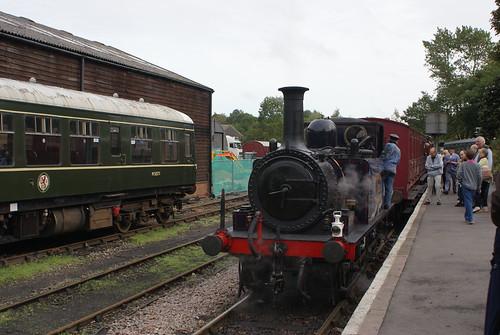 At Tenterden station