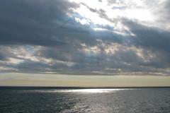 Adriatic as seen from Dubrovnik (johnstodder) Tags: clouds shadows sunbeam adriatic visibility adriaticsea