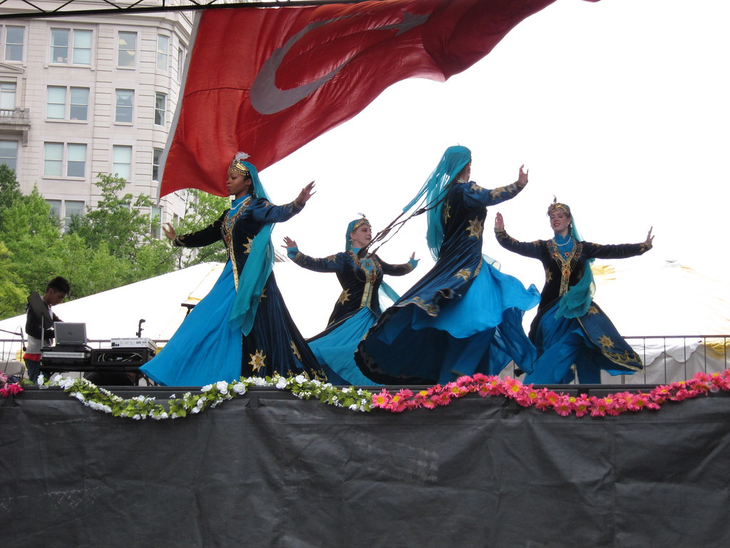 Silk Road Dance Company, Uzbek Dance, 2010 ATA-DC Turkish Festival