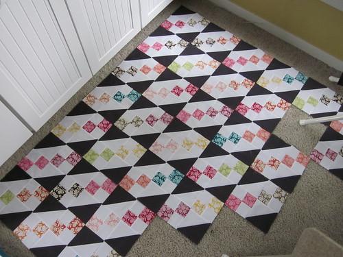 Henna Garden Quilt - blocks