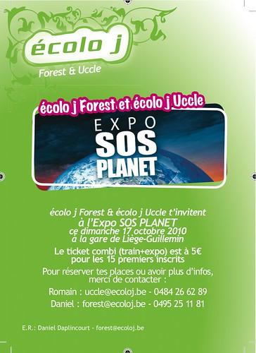Ecolo J Forest vous emmène à l'expo SOS PLANET