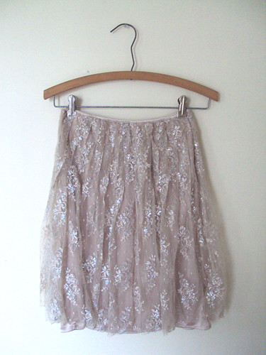 Sparkly Lacey Skirt