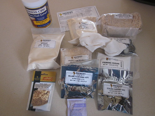 Contents of kit