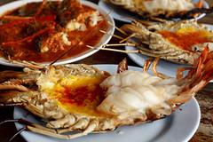 กุ้งแม่น้ำเผา Grilled Shrimps (1.0 kg)