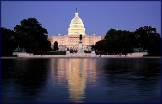 Capitol, Washington DC .