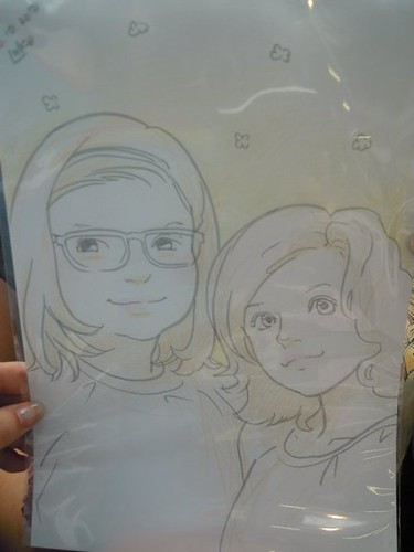 My sister and I in manga version