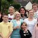 Brenda Rees with grandchildren and foster children