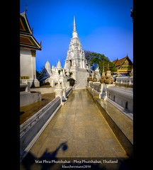 Wat Phra Phutthabat - Phra Phutthabat, Thailand (HDR) (farbspiel) Tags: geo:lat=1471815600 geo:lon=10078864100 geotagged phraphutthabat thailand watphraphutthabat tha d90 nikon nikonafsdxnikkor18200mm13556gedvr nikkor 18200mm wideangle handheld topazsoftware topazadjust topazdenoise topazphotoshopbundle photomatix photoshop postprocessing hdr dri hdri highdynamicrange tonemapping dynamicrangeincrease tonemapped detailenhancer tourism journey travel vacation holiday history historic ancient religion religious temple worship spiritual belief holy mystical buddha footprint amazing wat buddhist buddhismus bluesky sunshine niceweather klausherrmann photography asia southeastasia
