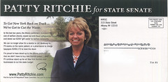 NYRSC: Patty Ritchie for State Senate (back)