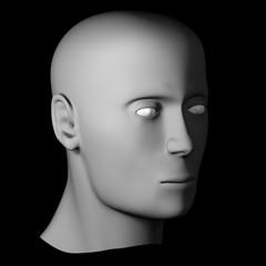 Male Head (Bust 1)