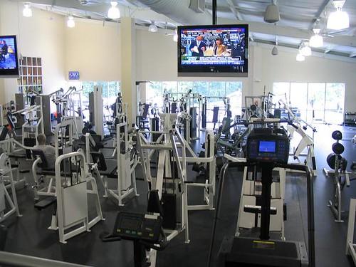 Winston Salem Gym - Golds Gym Workout Area
