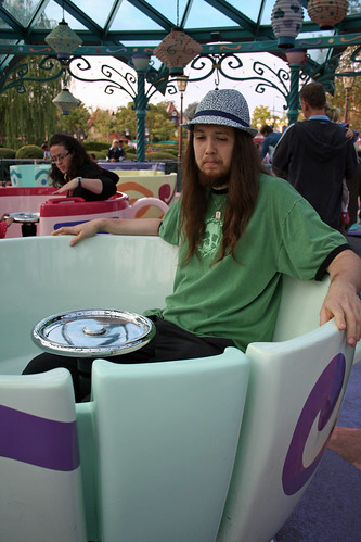 Bert in the teacups