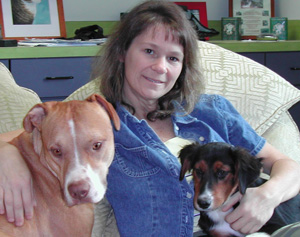 Susanne Kogut of Charlottesville Albermarle SPCA