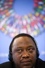 Министр финансов Кении Ухуру Кениатта