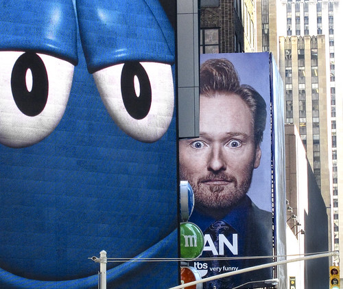 Conan and The Blue M&M