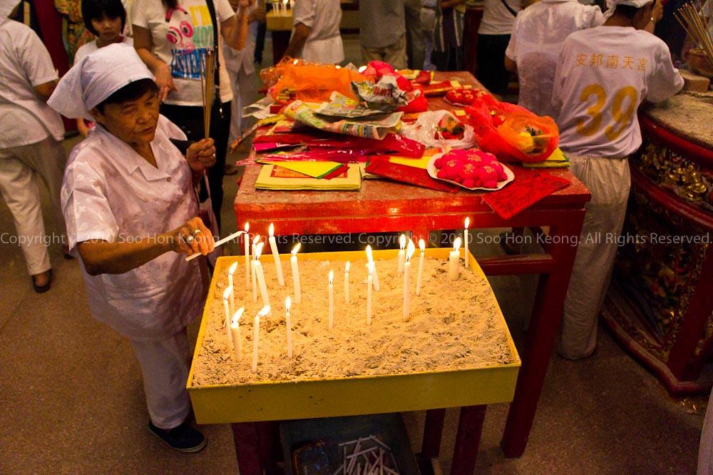 Devotee @ Nine Emperor Gods Celebration, Ampang, Malaysia