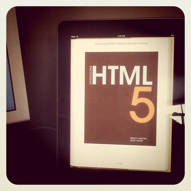 New book on HTML 5