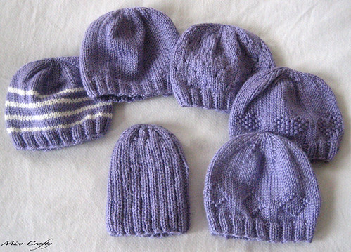 PURPLE - Baby Hats