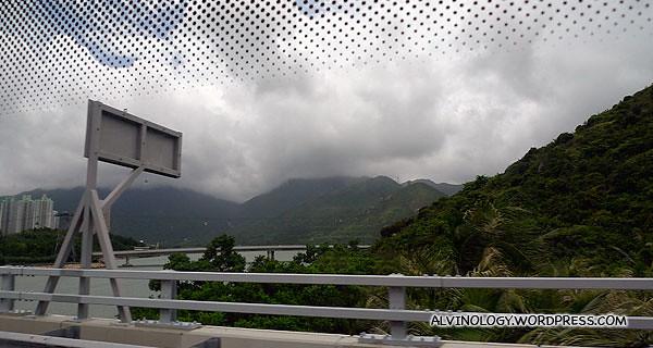Scenery along the way