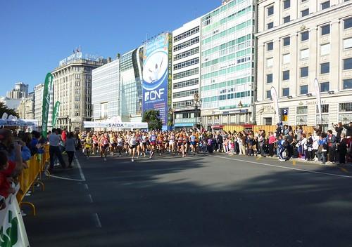 Salida de la IV Carrera Popular A Coruña 10