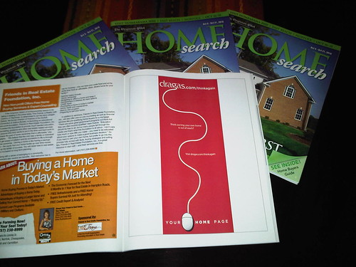 JASE creative work for Dragas Companies in Home Search magazine