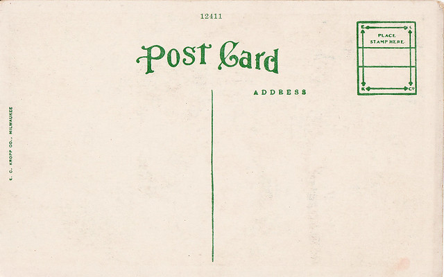 Post Card Back