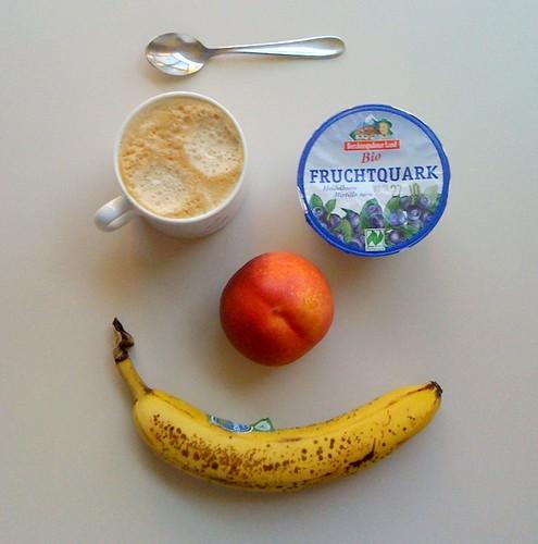 Bio-Fruchtquark, Nektarine & Banane