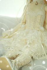 Bella Pupa dress (Bella Pupa) Tags: outfit doll dress lace antique victorian corset bjd bella dollfie superdollfie volks pupa abjd masha
