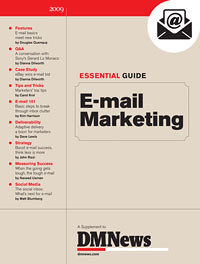 DMNews 2010 Essential Guide to Email Marketing