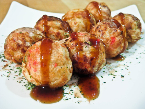 Takoyaki Japanese Recipe food