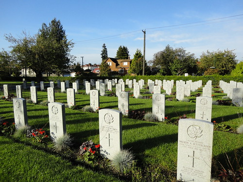 Soldiers' headstones