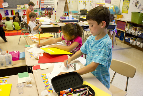 second grade writing class by woodleywonderworks, on Flickr
