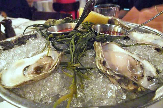 Fresh Half a Dozen Oysters