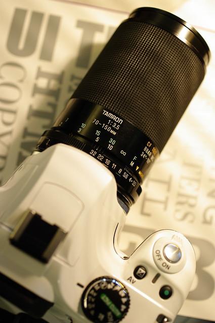Tamron 70-150mm f/3.5 adaptall-2 (20A)