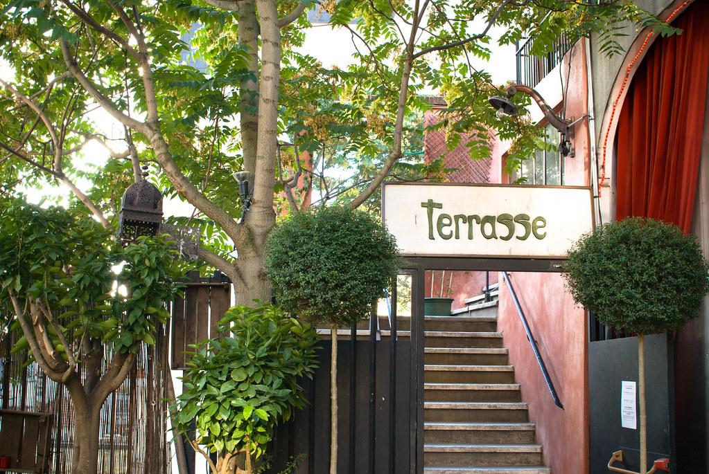 La terrasse de la Bellevilloise