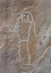 Petroglyph / McConkie Ranch Site (Ron Wolf) Tags: nativeamerican petroglyph archeology rockart pictograph navajosandstone anthropomorph anthromorph fremontculture mcconkieranch