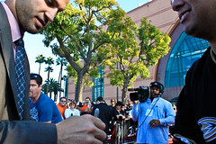 20101013-IMG_2820 (bmg_p) Tags: red night carpet october ducks opening anaheim 13 2010