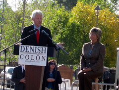 Bill Clinton & Diane Denish