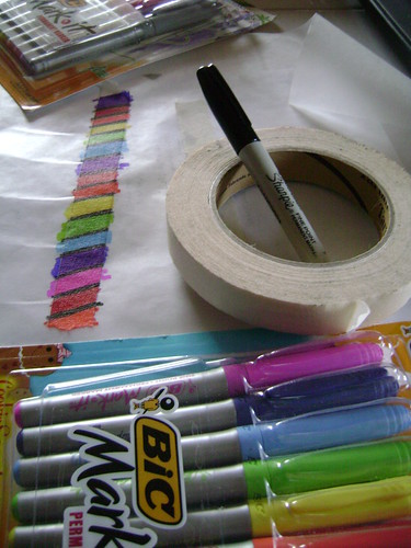 DIY Deco Tape Supplies