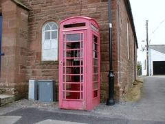 Kirkton (stonetemplepilot5) Tags: red rural neglected rusty tired distressed crusty phonebox unloved kirkton