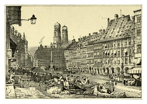 032-Munich-Sketches by Samuel Prout in France Belgium….1915