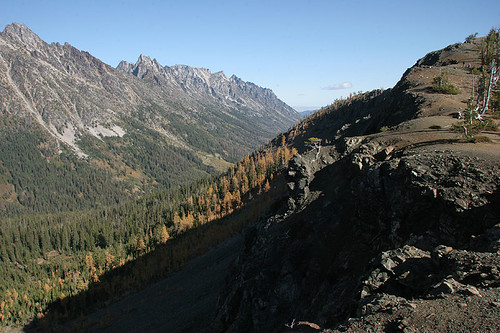 Vista from Longs Pass towards Eastern WA