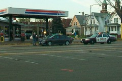 police action (Ruin Raider) Tags: minnesota cops accident stpaul police crime cop policeaction sppd stpaulpolice