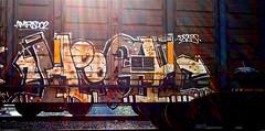IMG_4459 (mightyquinninwky) Tags: railroad graffiti tag graf tracks railway tags tagged railcar rails boxcar graff graphiti freight trainart fr8 railart boxcarart freightart taggedboxcar paintedboxcar paintedrailcar taggedrailcar